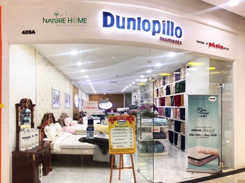 Showroom Dunlopillo Luxury - Vạn Hạnh Mall