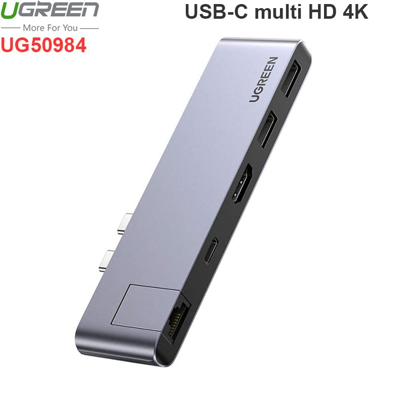 2 usb-c ra hd lan usb hub 3.0 ugreen