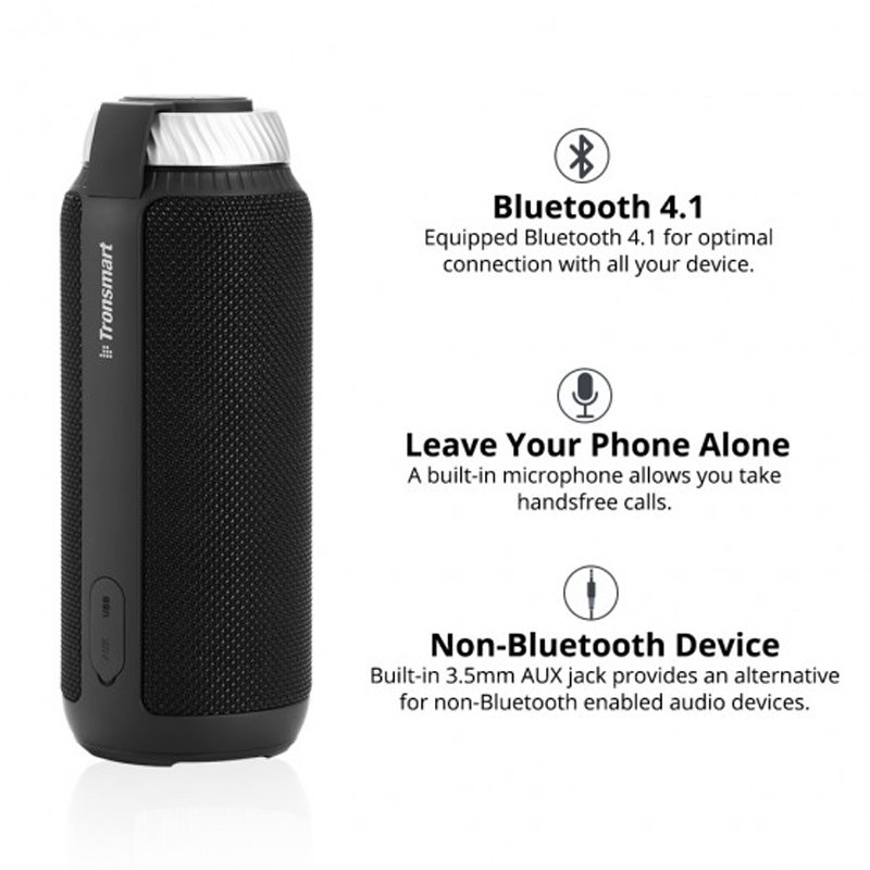 loa bluetooth di dong 25w tronsmart element t6