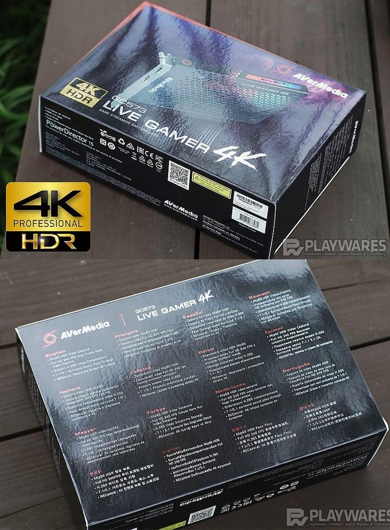 card ghi hinh HDMI 2.0 4KP60 HDR Avermedia GC573