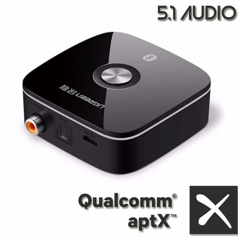 bluetooth receiver aptx ugreen 40855