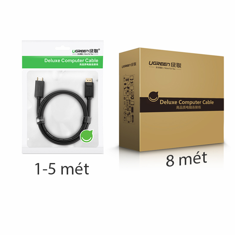 day displayport sang hdmi ugreen