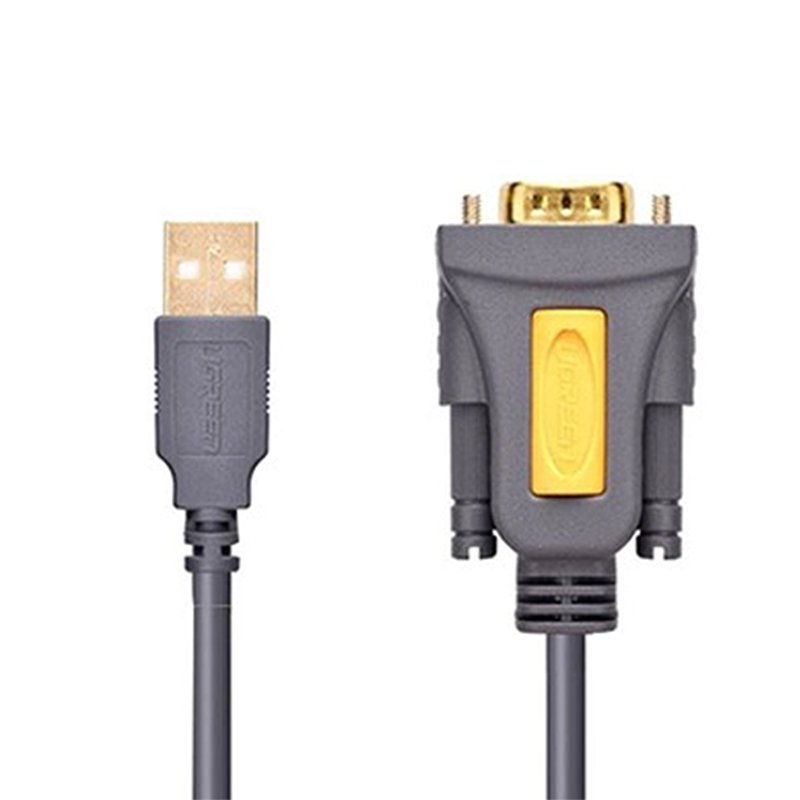 cap usb ra db9 rs232 1.5 met ugreen 20201
