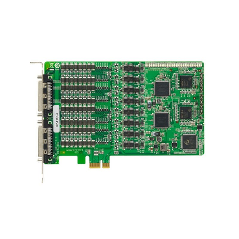 pci-e card to 16 port moxa cp-116e-a
