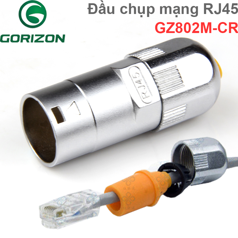 GZ802M-CR dau chup mang chong nuoc ip67