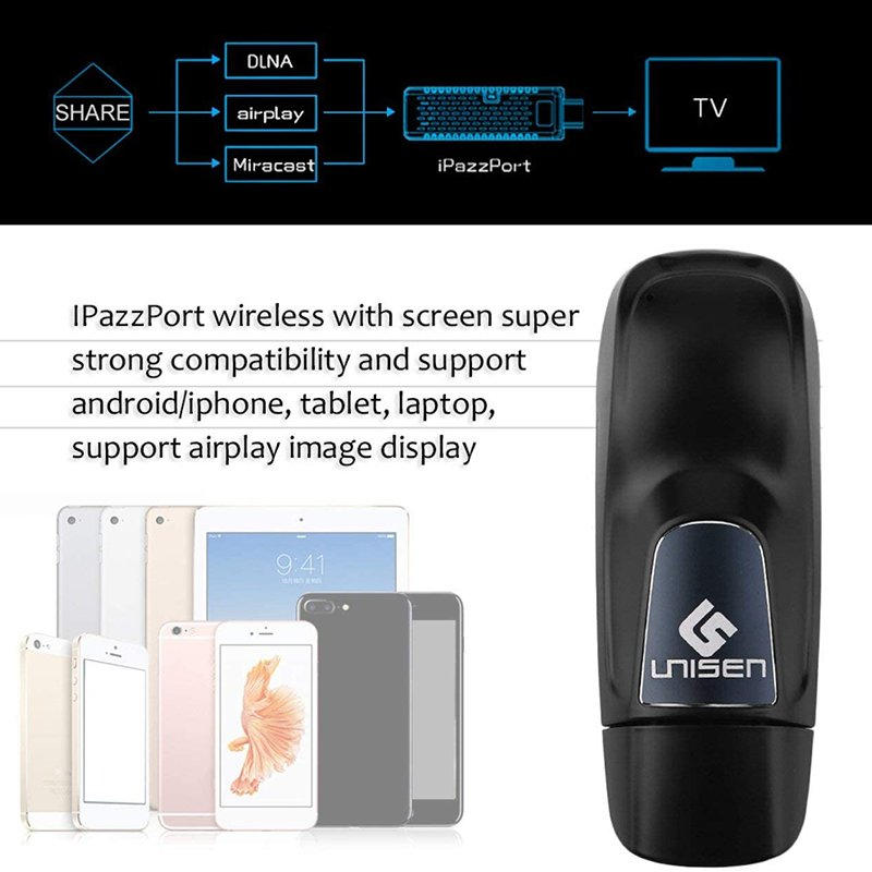 hdmi dongle miracast ipazzport