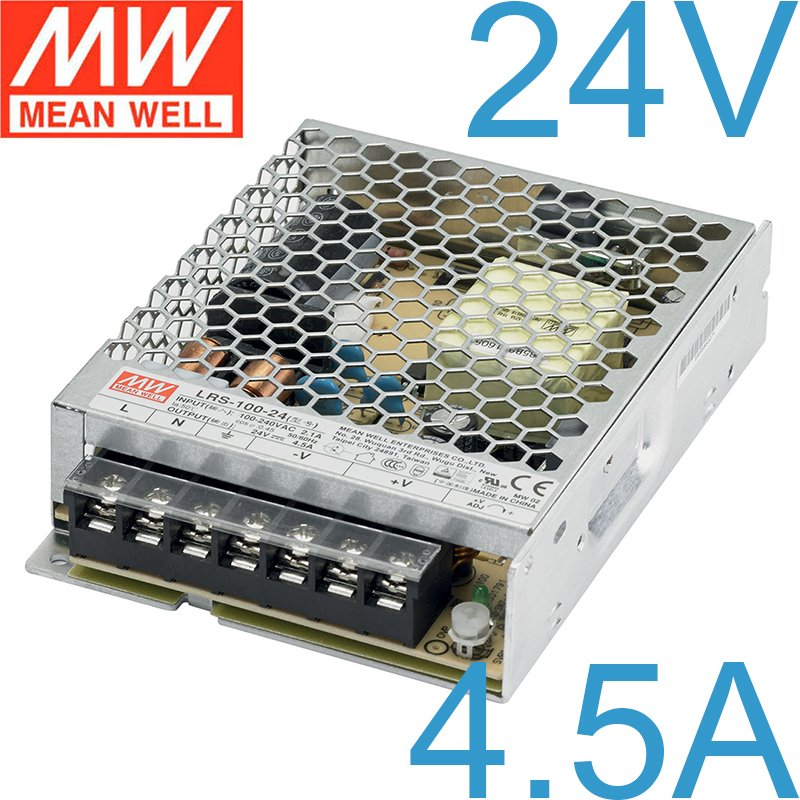 nguon 24v 4.5a 108w meanwell lrs-100-24