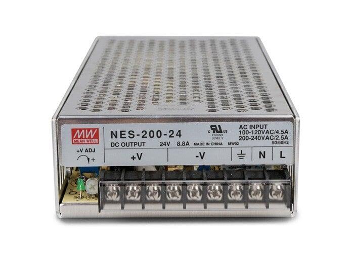 Nguồn DC LED 24V Meanwell NES-200-24 24V 8.8A 200W