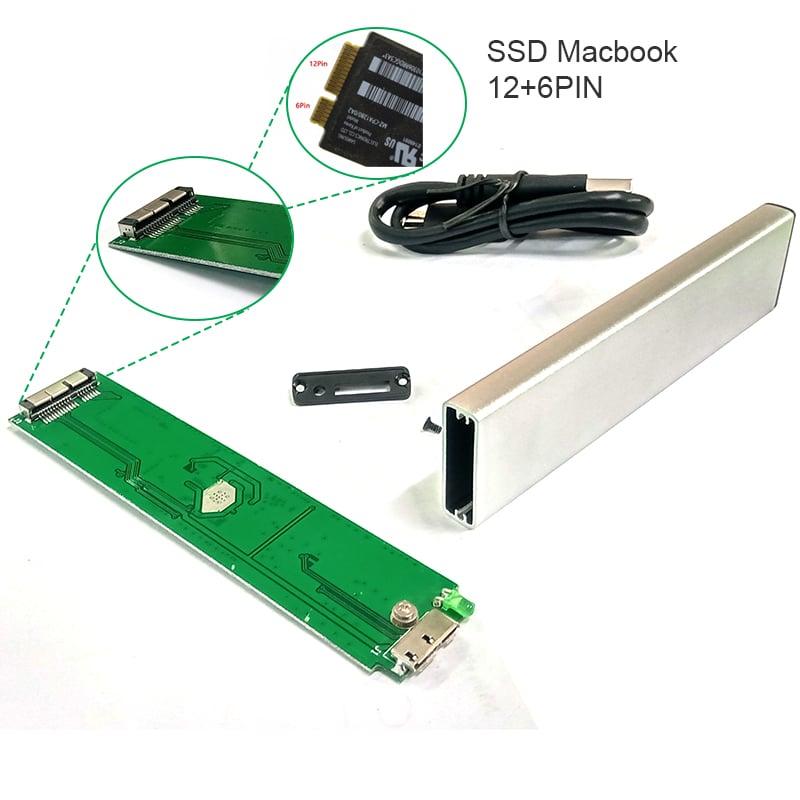 ssd box cho macbook air