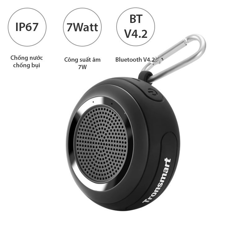 loa bluetooth mini tronsmart plash