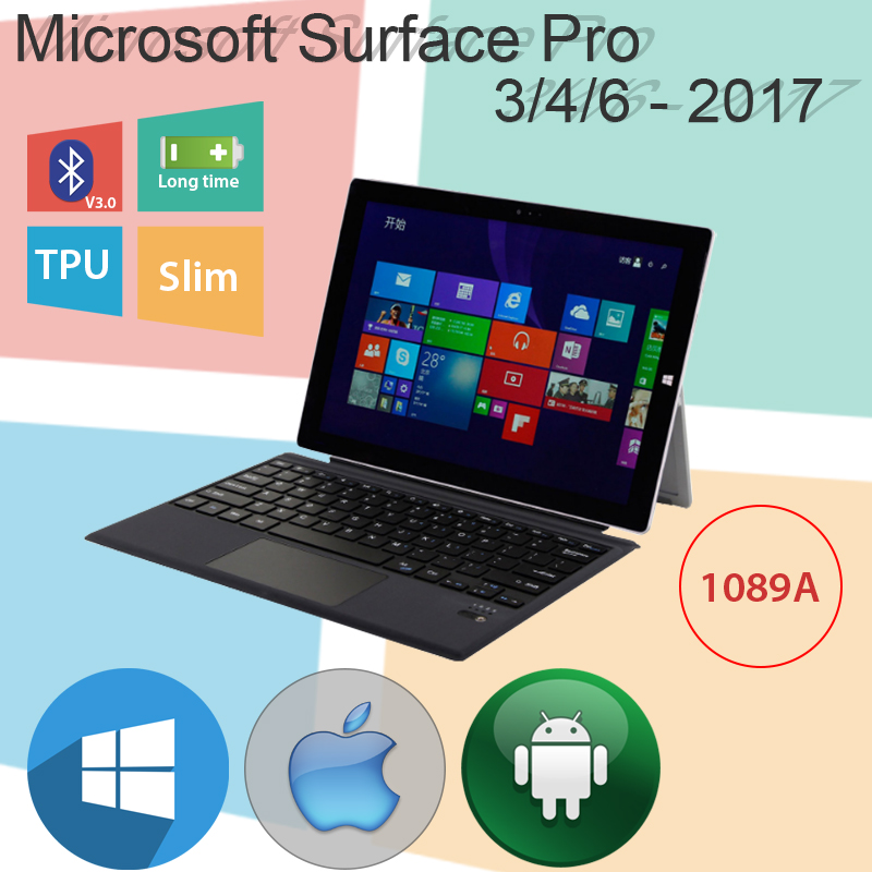 ban phim surface bluetooth pro3 pro4 pro6 pro 2017