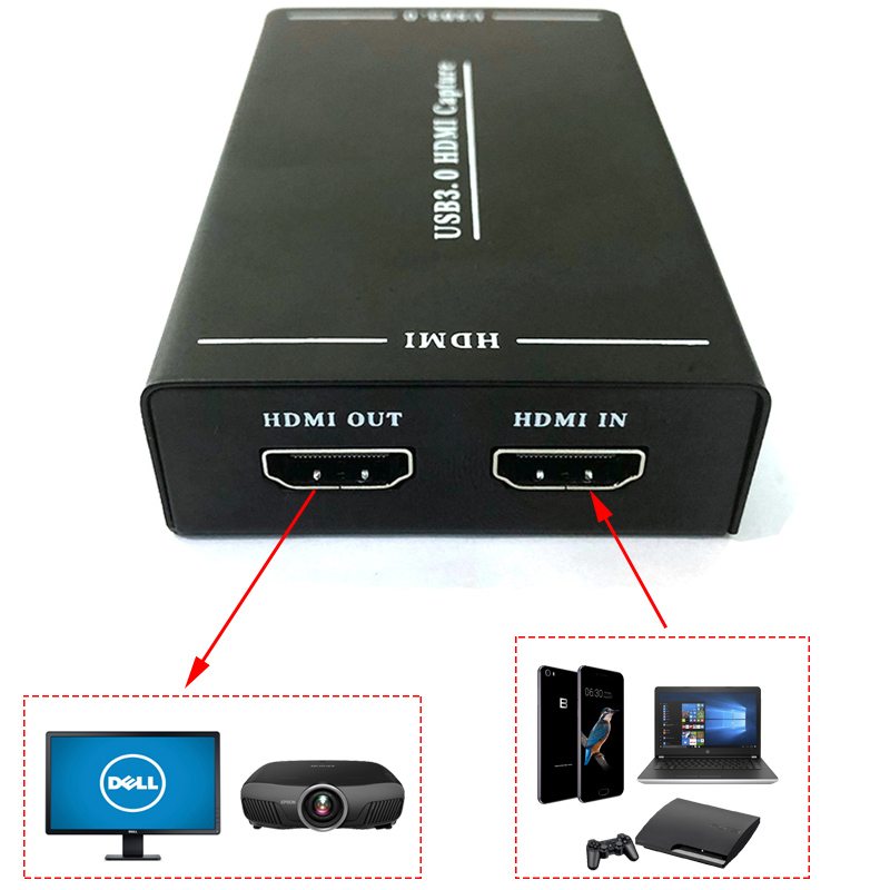 usb 3.0 to hdmi ghi hinh online facebook youtube