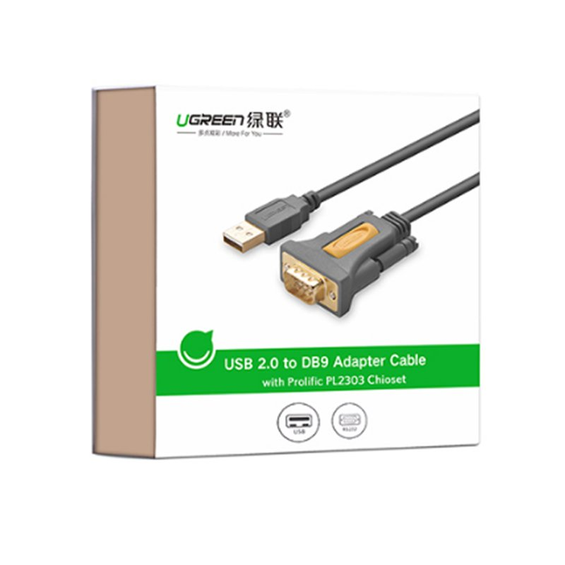 cap usb sang com9 rs232 ugreen