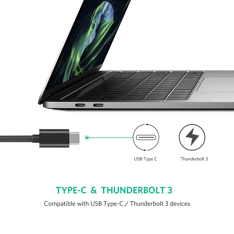 ugreen 50307 usb type c sang lan ghigabit