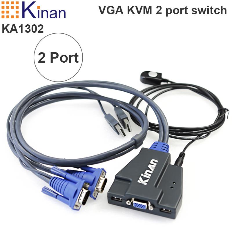 kvm 2 port Kinan KA1302