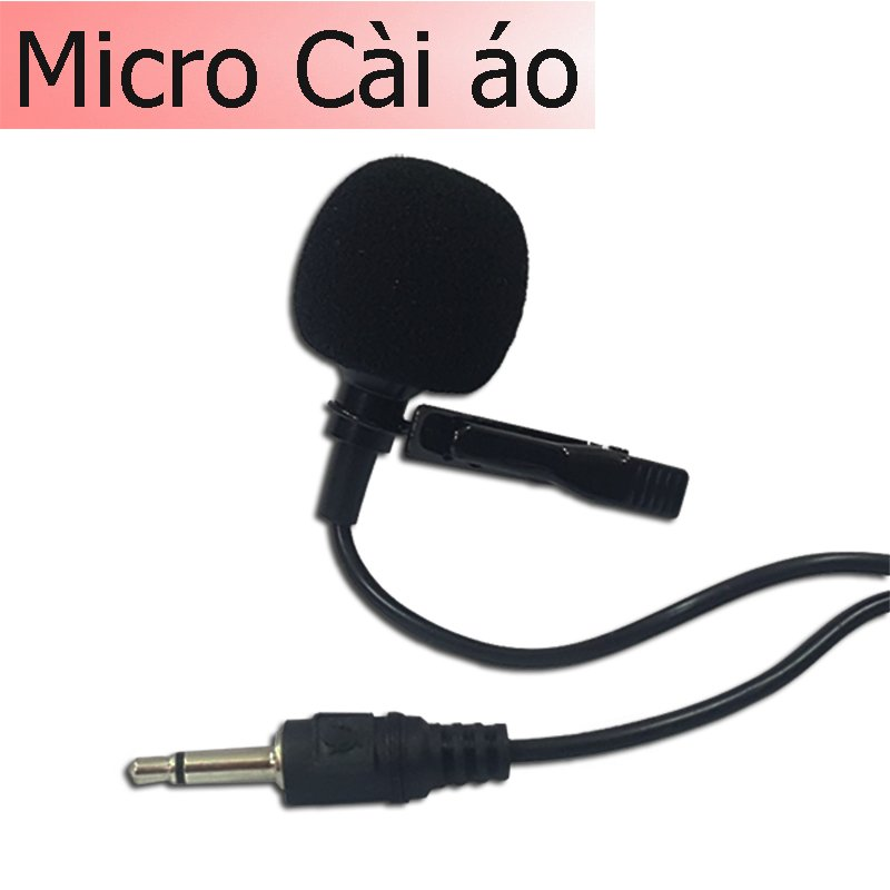 microphone cai ao co day