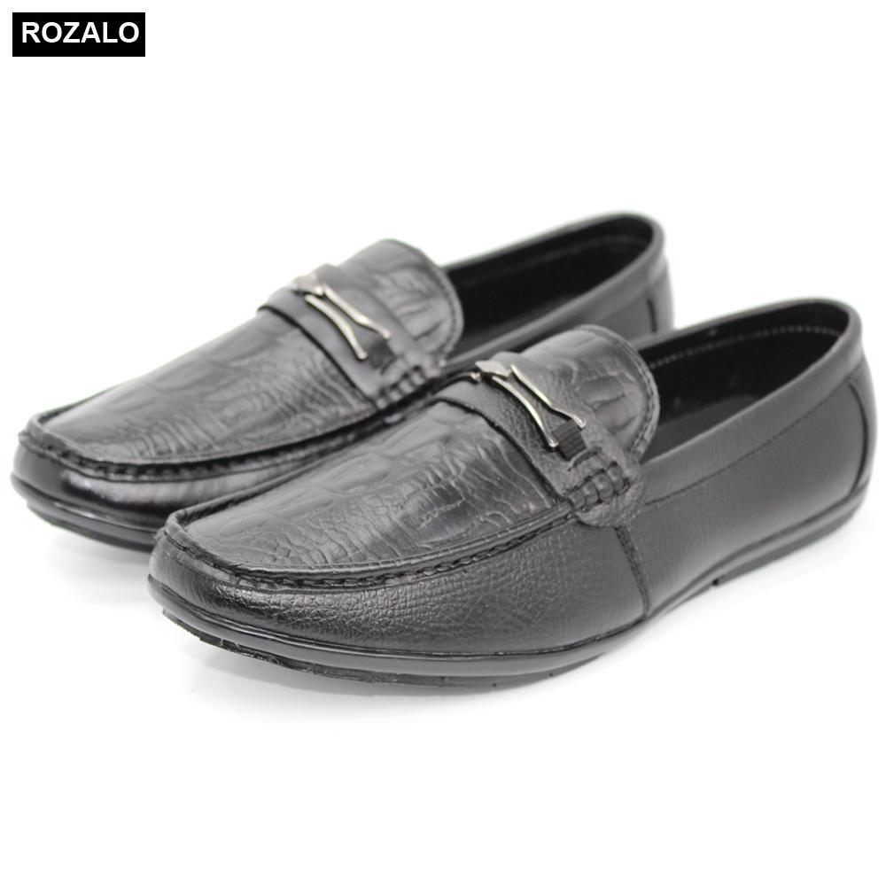 Giày lười nam đế bệt Rozalo R3290