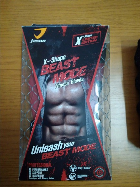 Găng tay tập gym Jason X-Shape Beats Mode, Gang tay tap gym Jason X Shape Beats Mode