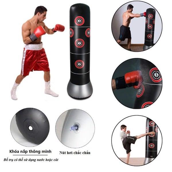 Trụ đấm bốc phản xạ tự cân bằng Pure Boxing 1.0, Tru dam boc phan xa tu can bang Pure Boxing 1.0