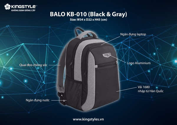 Balo KingStyle KB-010
