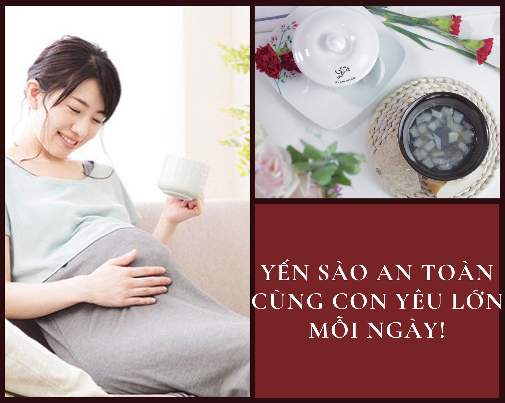 Yến tươi chưng _ lựa chọn hàng đầu cho phụ nữ mang thai