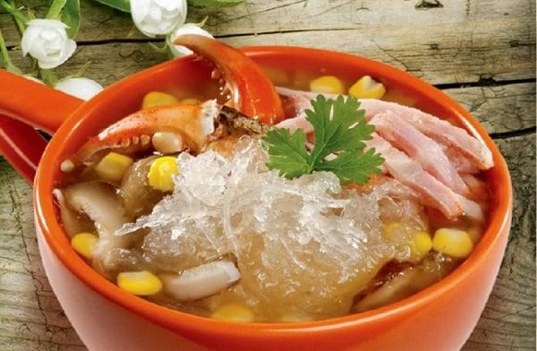 Cách làm món súp cua tổ yến sào