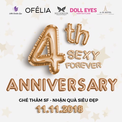 4TH ANNIVERSARY SEXY FOREVER