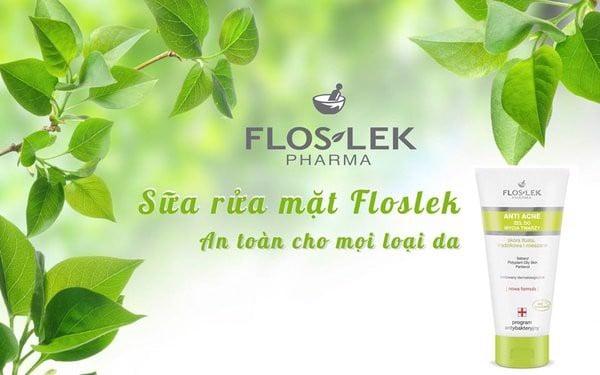Floslek Pharma Gel Rửa Mặt Diệt Khuẩn Ngừa Mụn Antibacterial Face Clea –  CÔNG TY TNHH PICARE VIỆT NAM