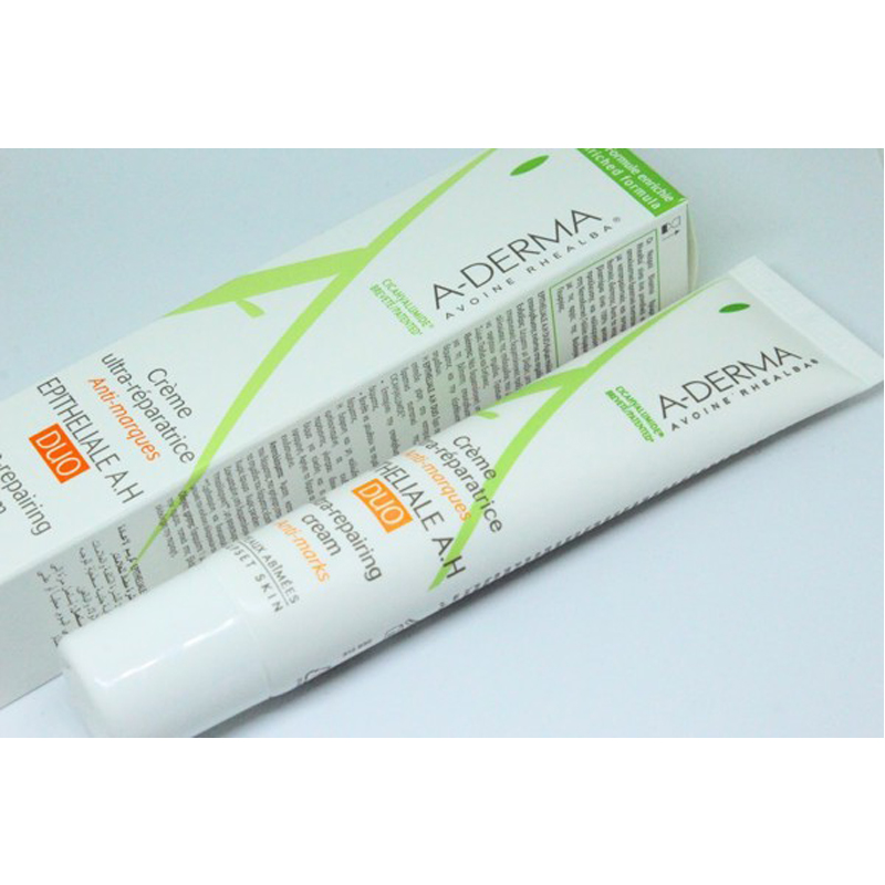 Kem phục hồi và tái tạo làn da sau khi laser A Derma Epitheliale A H DUO Ultra Repairing Cream 40ml