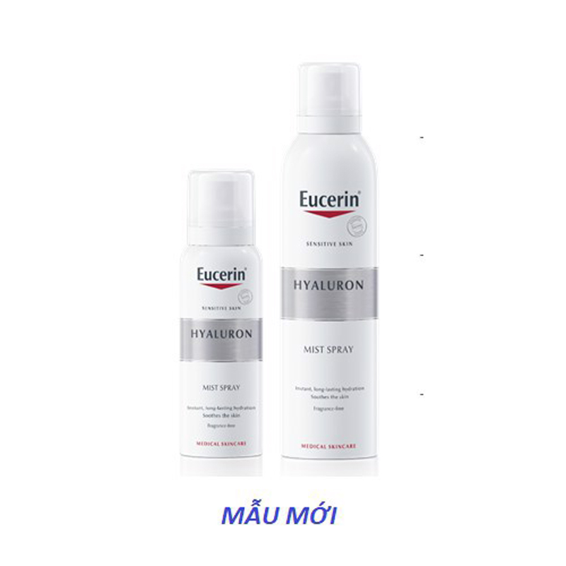 Xịt Dưỡng Ẩm Cho Da Nhạy Cảm Eucerin Hyaluron Mist Spray 150ml