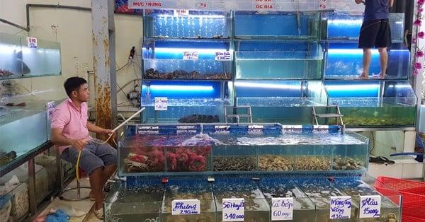 mục đích lắp bể hải sản nhà hàng