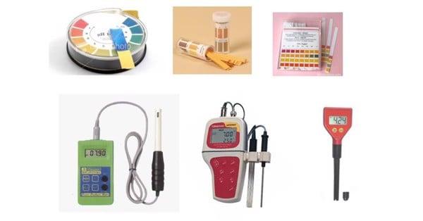 phụ kiện bể cá cảnh đo độ pH