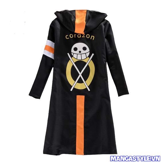 Áo Cosplay Trafalgar Law One Piece