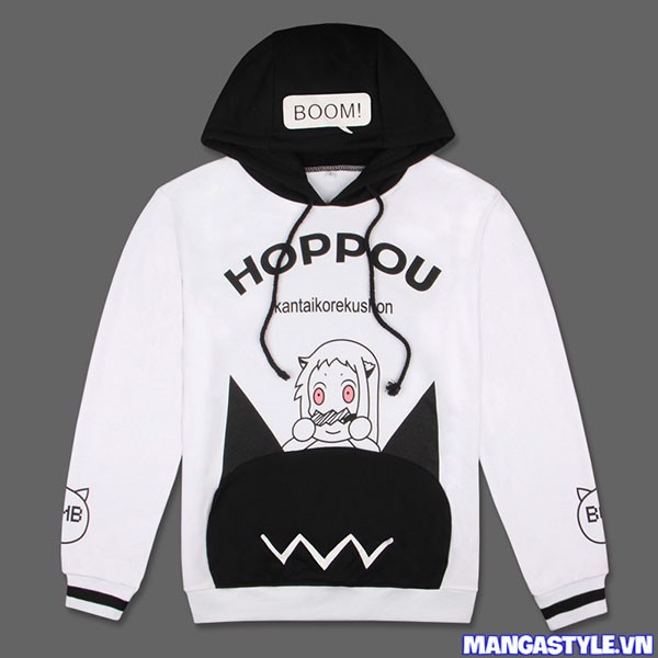 Áo Hoodie Hoppou Kantai Collection