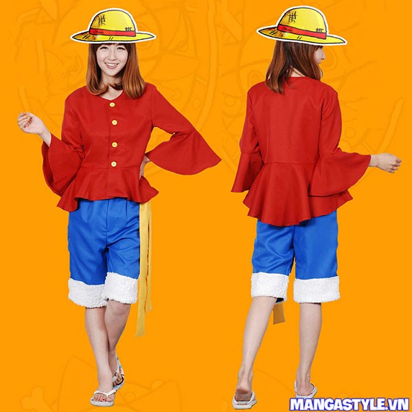 Bộ Cosplay Monkey D Luffy Sau TimeSkip One Piece