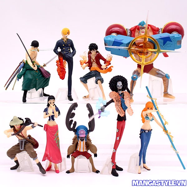 Bộ Mô Hình Straw Hat Pirates Fishman Island Battle One Piece