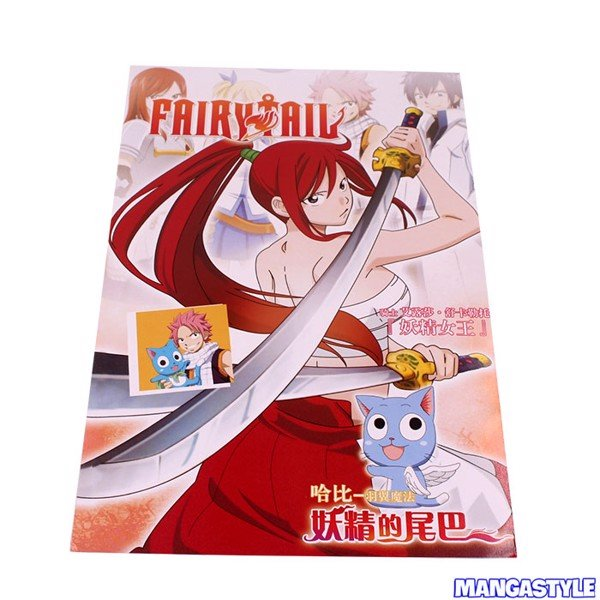 Bộ Poster Fairy Tail