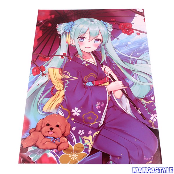 Bộ Poster Hatsume Miku Vocaloid