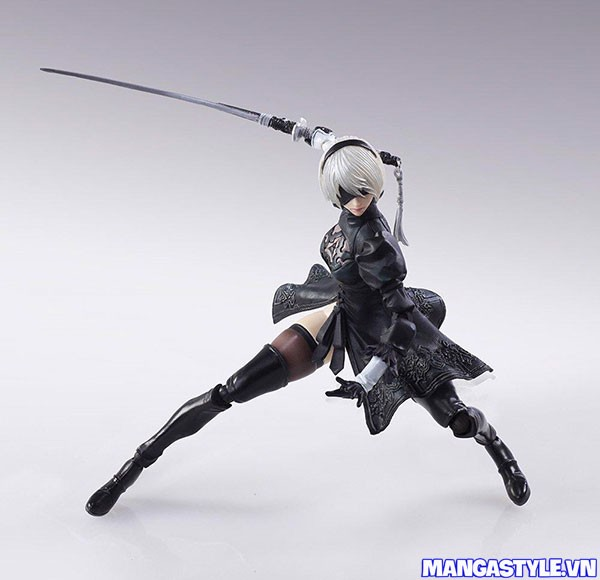 Bring Arts 2B & Machine Lifeform Set NieR Automata