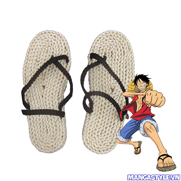 Dép Cosplay Monkey D Luffy One Piece