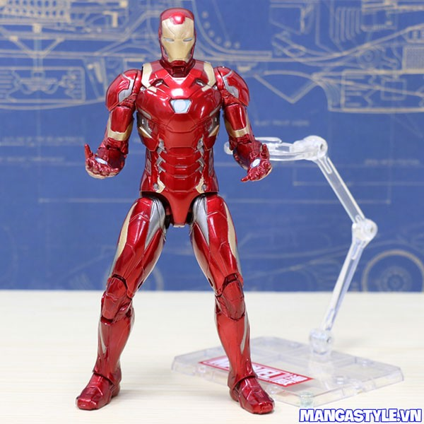 Figma Iron Man Mark 46 Captain America Civil War