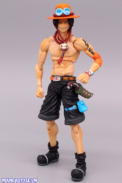 Variable Action Heroes Portgas D Ace Action Figure