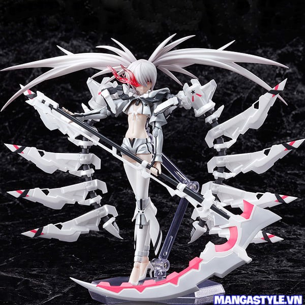 Figma White Rock Shooter Black Rock Shooter