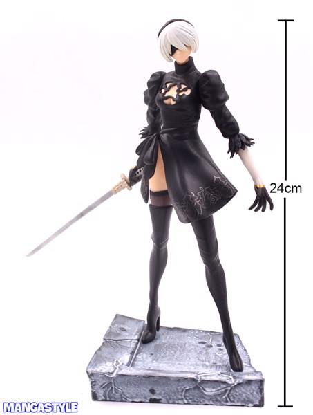 Figure 2B YoRHa No.2 Type B Black Dress Fighting Ver NieR Automata