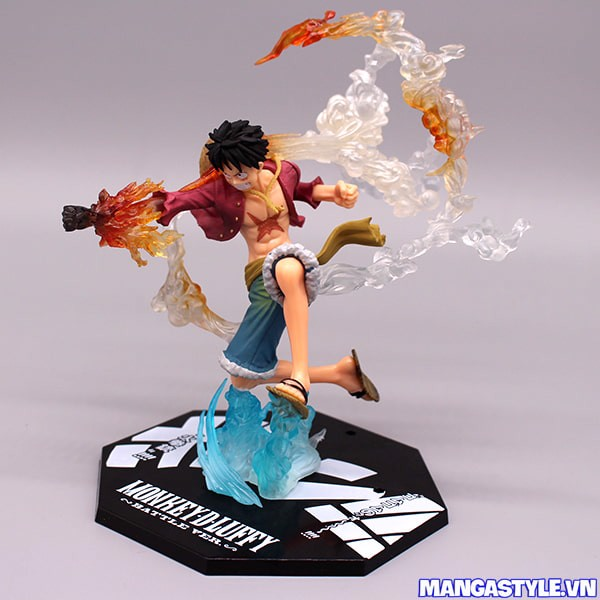 Figure Monkey D Luffy Battle Ver Gomu Gomu No Red Hawk One Piece