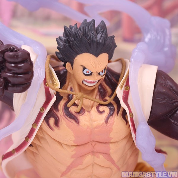 King Of Artist Monkey D Luffy Gear Fourth The Bound Man Figure One Piece