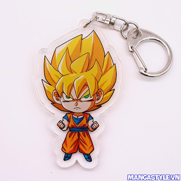 Móc Khóa Mica Goku Super Saiyan Dragon Ball