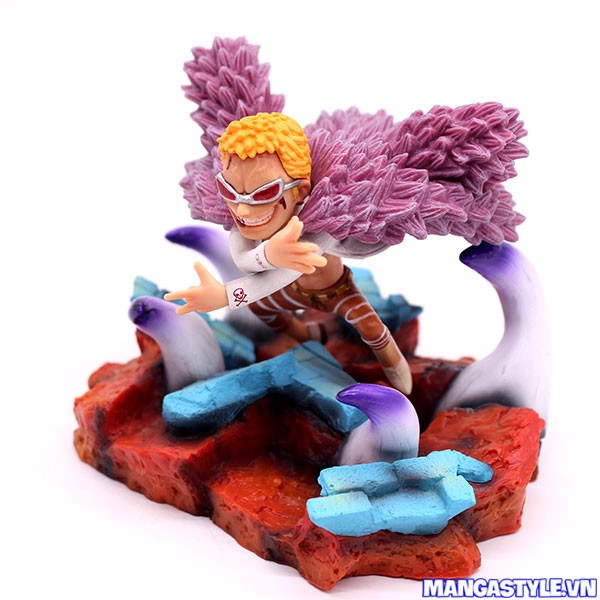 Monkey D Luffy Gear 4 VS Doflamingo Showdown Figure One Piece