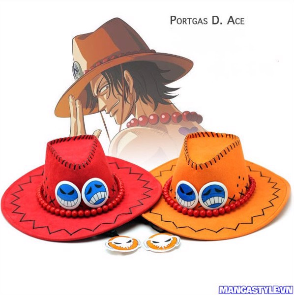 Mũ Cosplay Portgas D Ace One Piece