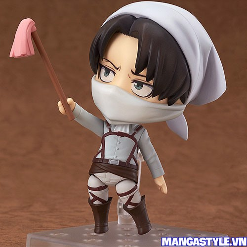 Nendoroid Levi Cleaning Ver